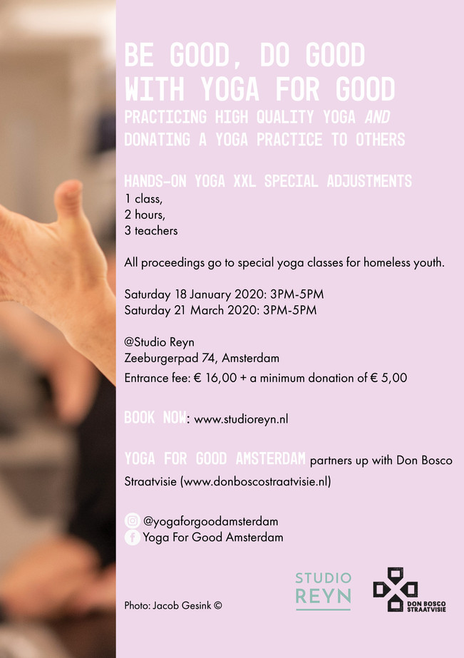 Flyer A5 - Yoga For Good