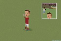 Totti Selfie Celebration