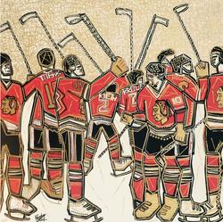 Blackhawks pride