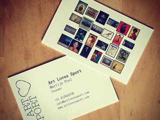 Business cards = being in business