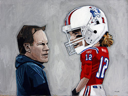 Bill Bellichick and Tom Brady