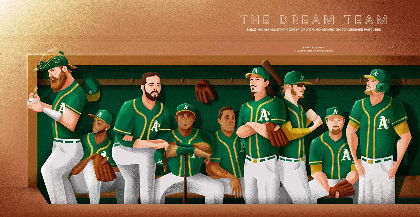 The A's Dreamteam