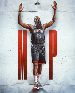 James Harden NBA MVP 2017-2018 - 1