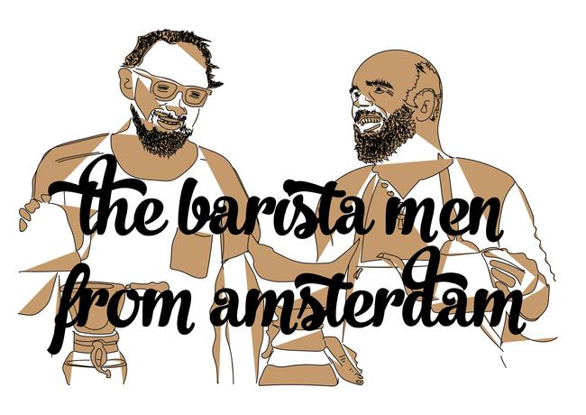Logo The Barista Men From Amsterdam
