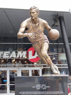 Jerry West Statue