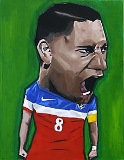 Clint Dempsey USA Soccer