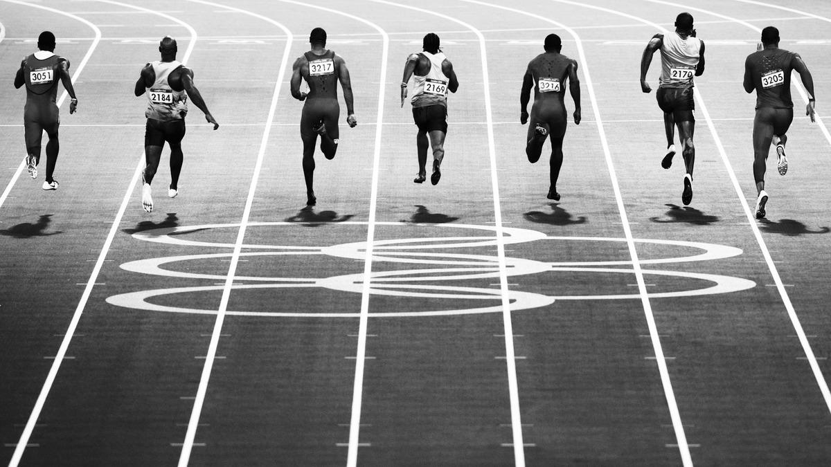 Olympics Running