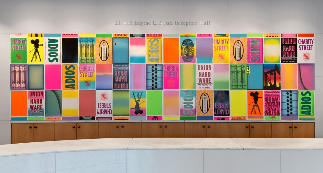 Faith, hope and charity installation