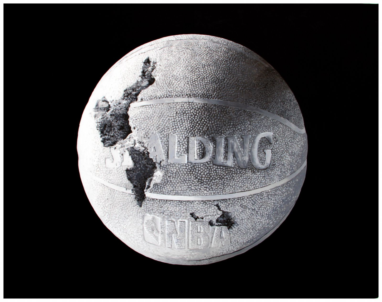 Study of the Eroded Basketball