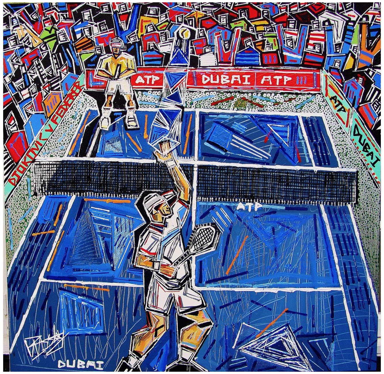Djokovic vs Federer Dubai