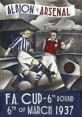 Albion v Arsenal 1937