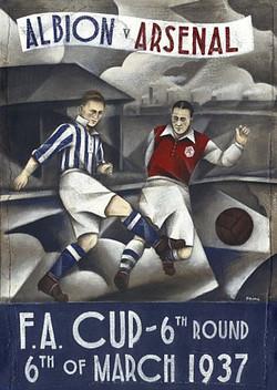 Albion v Arsenal 1937
