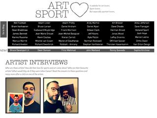 New segment online: Artist Interviews!