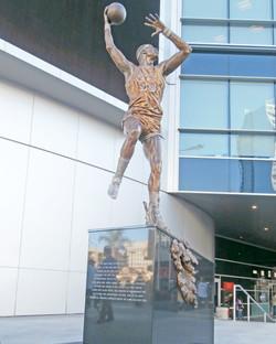 Kareem Abdul Jabbar Statue