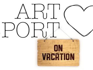 Art Loves Sport on vacation