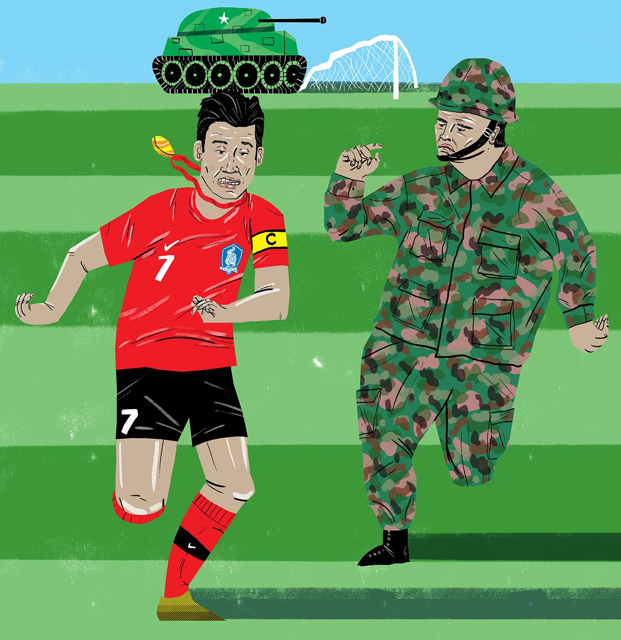 Son vs Military