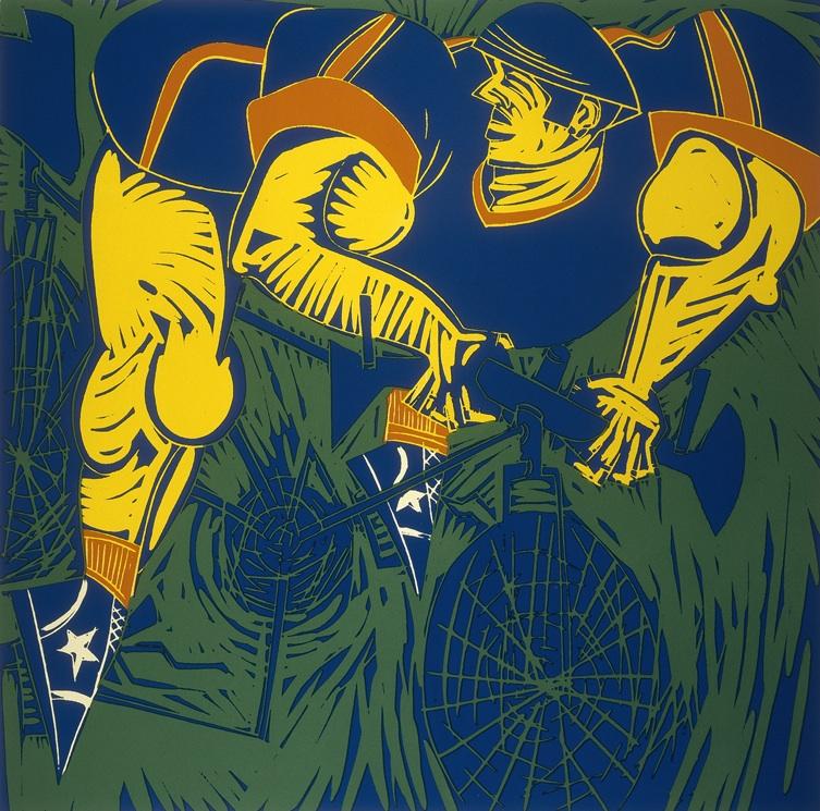 Cyclist no 8