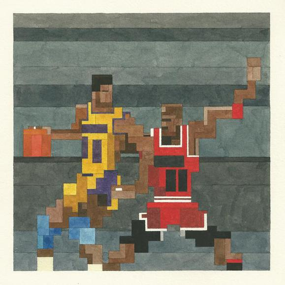 Magic vs Jordan