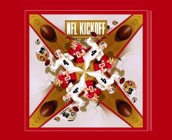 NFL Kickoff Poster