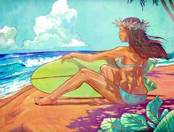 Surf Girl Shade