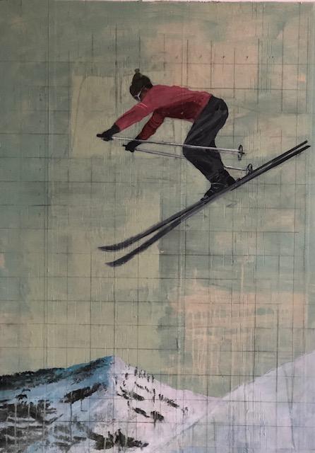 Ski jumper #7
