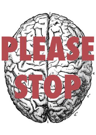 Words in a depressed brain