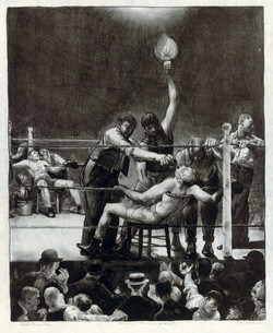 Between Rounds, Small, Second stone,1923
