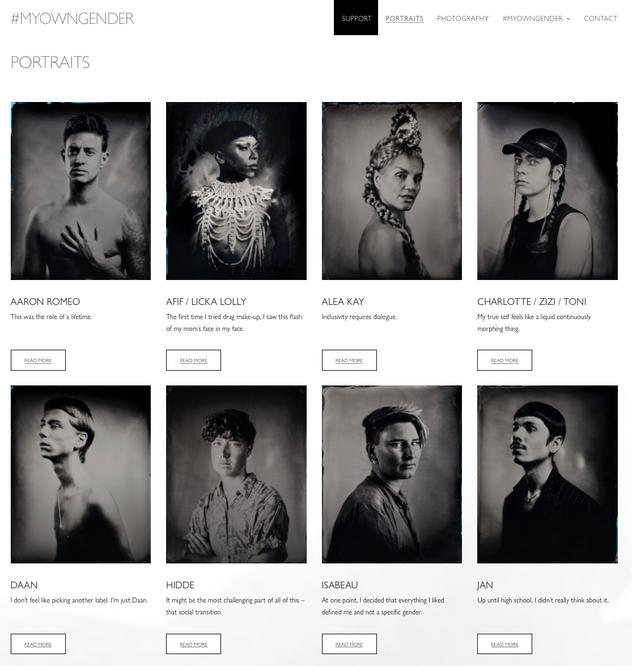 Website #MYOWNGENDER