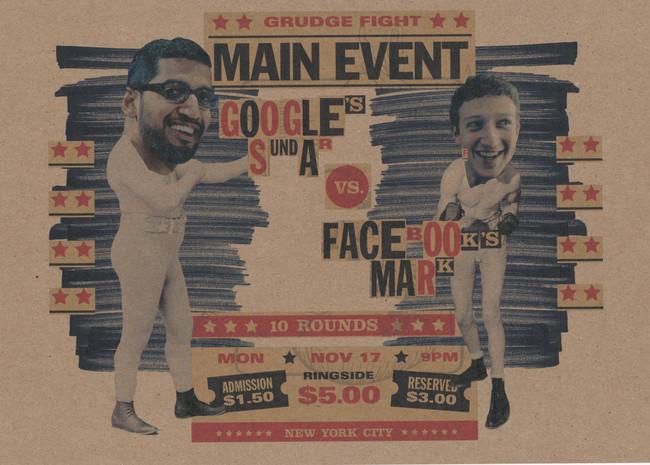 Google vs Facebook