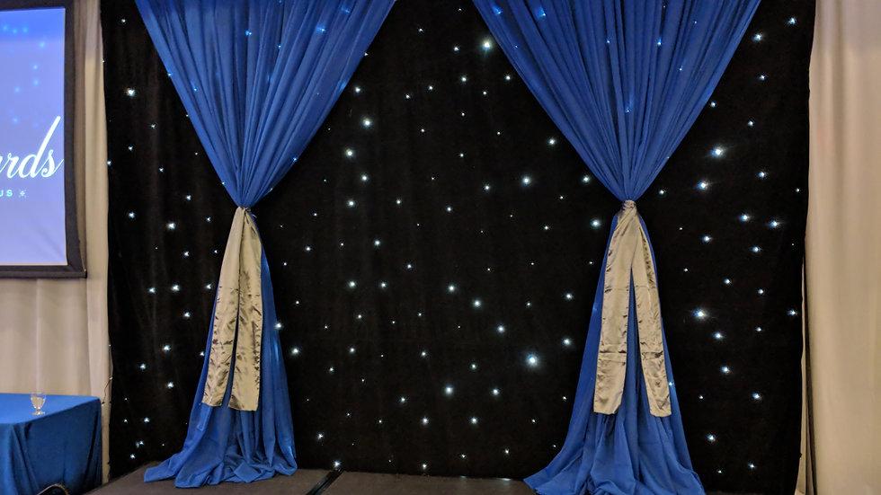 LED Star Drape