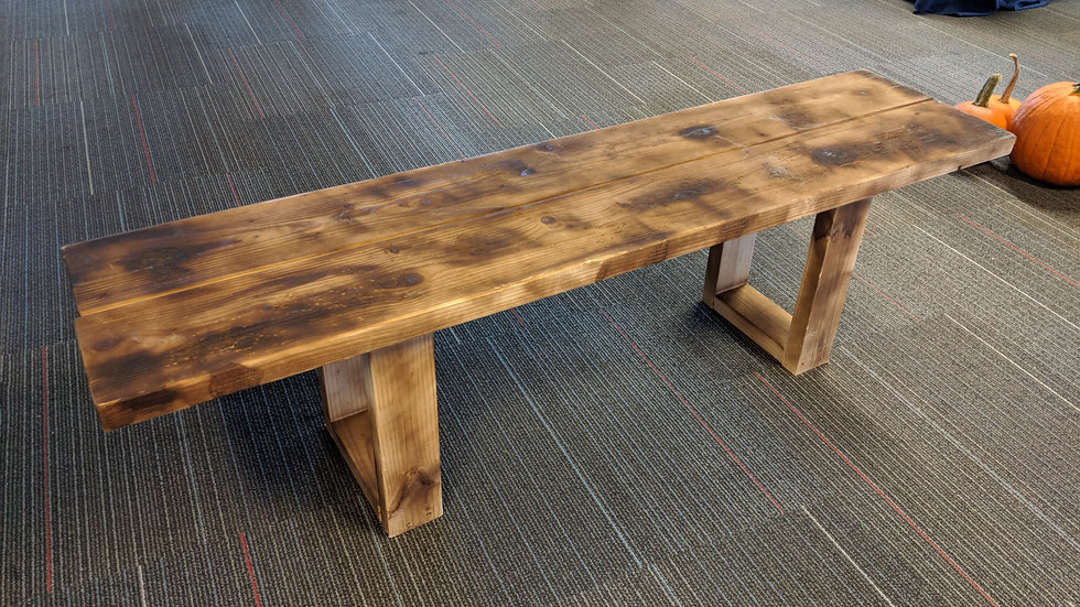 Wooden Bench - 5'