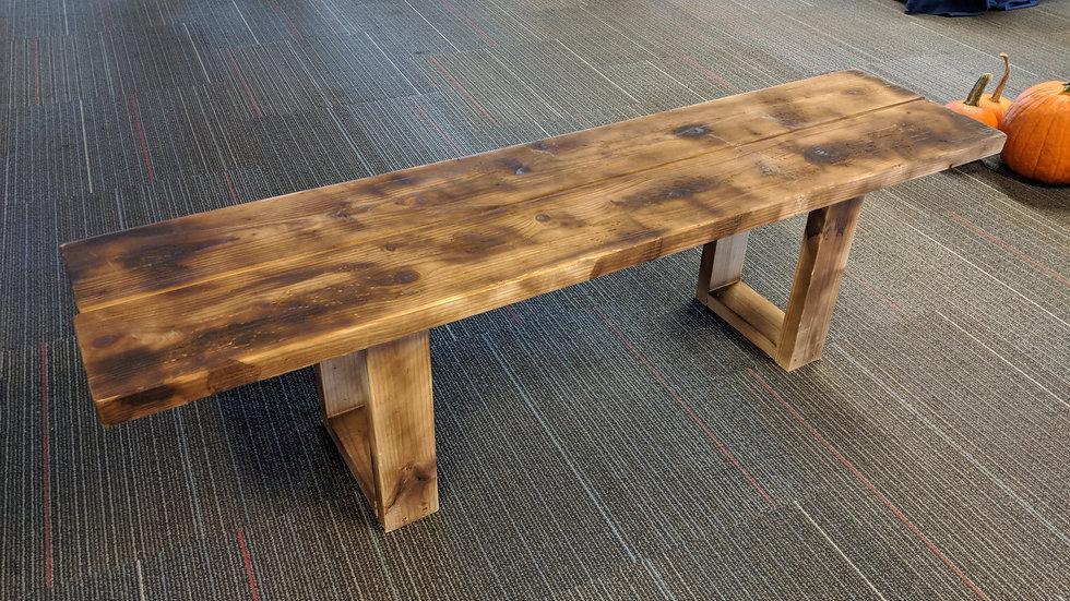 Wooden Bench - 5'