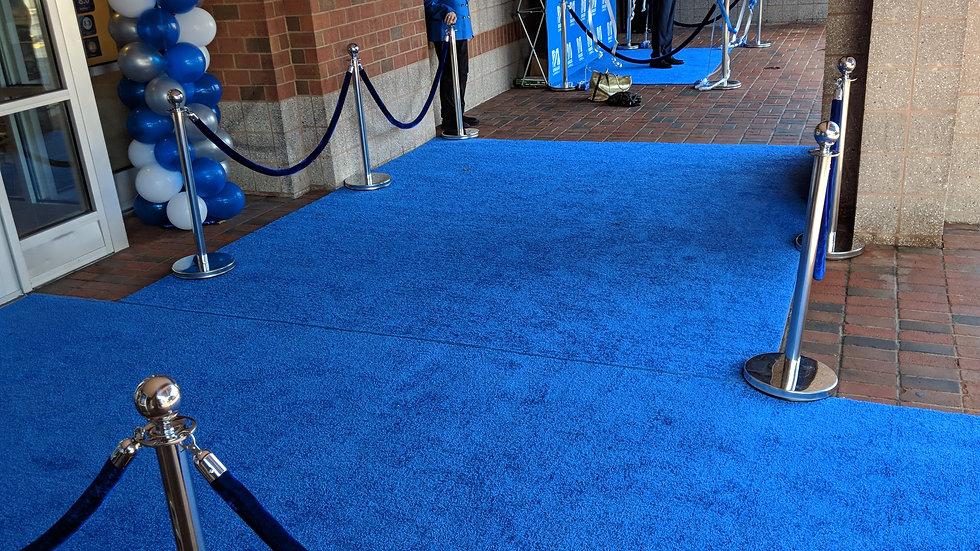 Blue Carpet Entrance