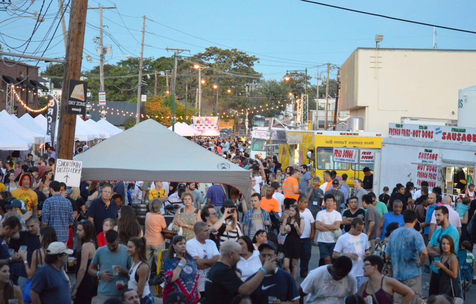 Festival Food Trucks and Tents