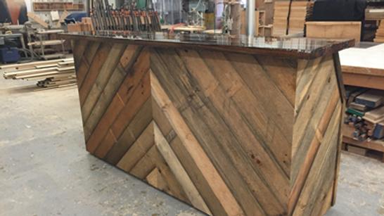 Chevron Wood Bar