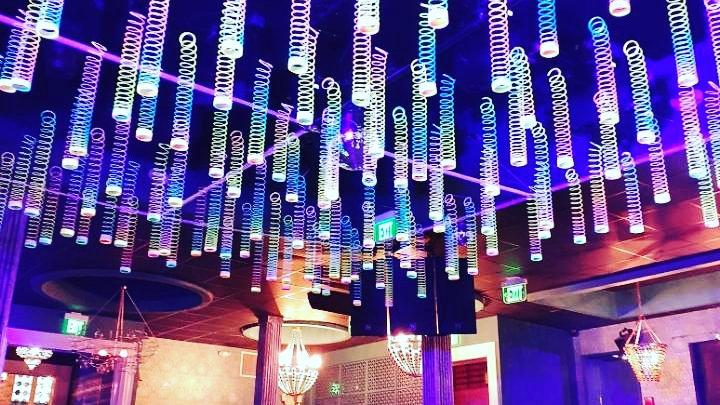 Slinky Ceiling