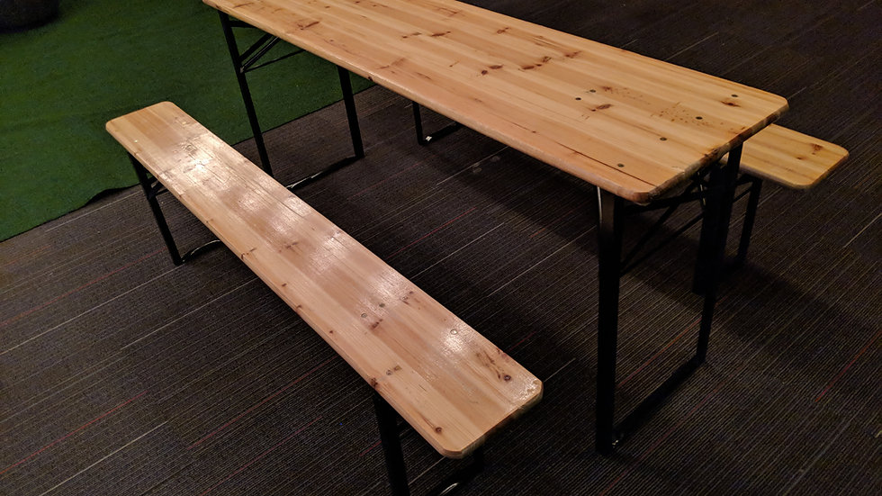 Biergarten Tables