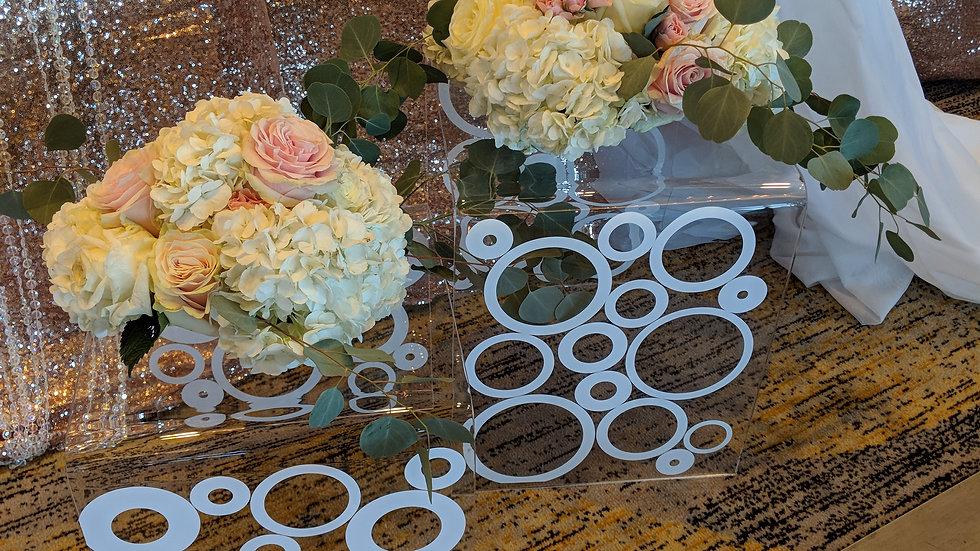 Acrylic Bubble Nesting Tables