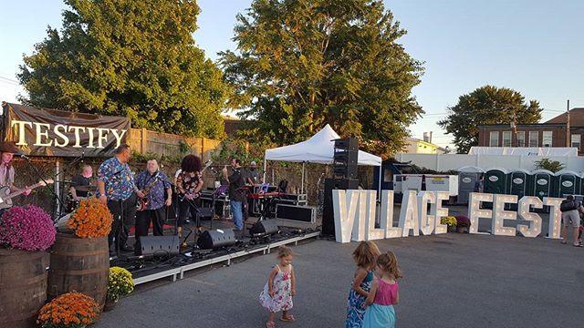 Testify at VillageFest 2017