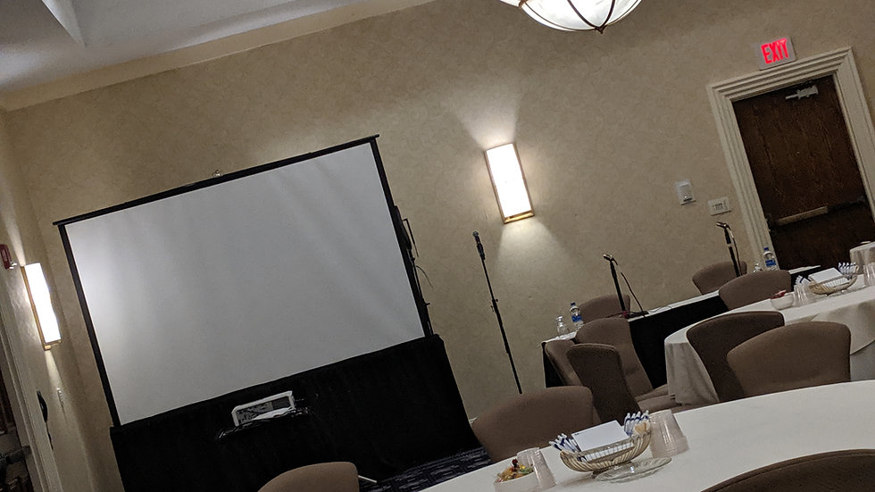 Screen and Projector