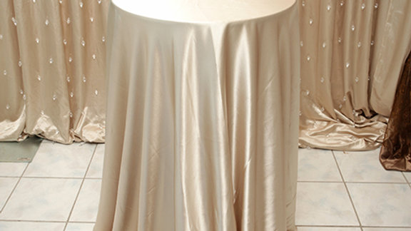 Round Satin Linens - All Colors