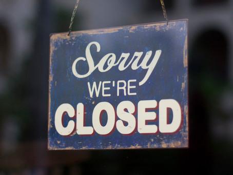 Holston Habitat Administrative Office Closed
