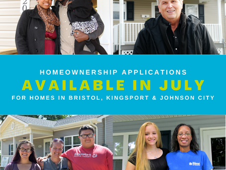 Homeownership Applications Available Now