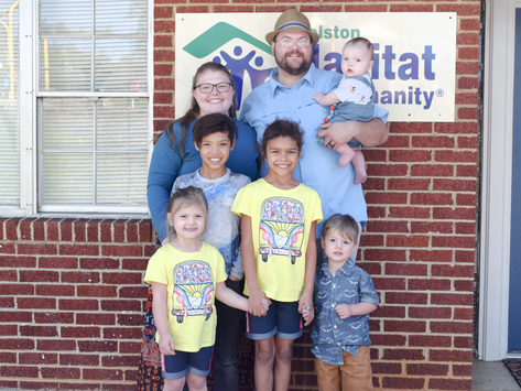 Volunteer on Joshua & Kathy's Build, Kingsport