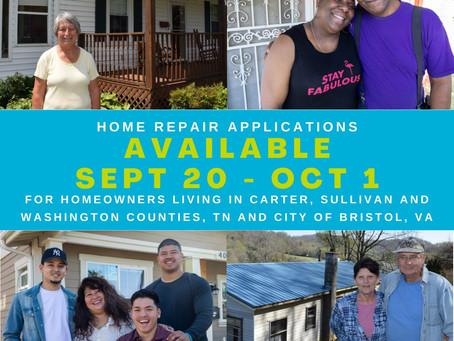 Home Repair Applications