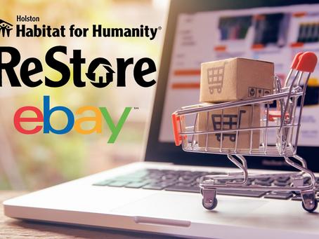 Shop the Holston Habitat ebay Store