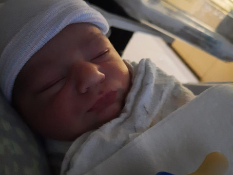 Triangle family welcomes their first baby!