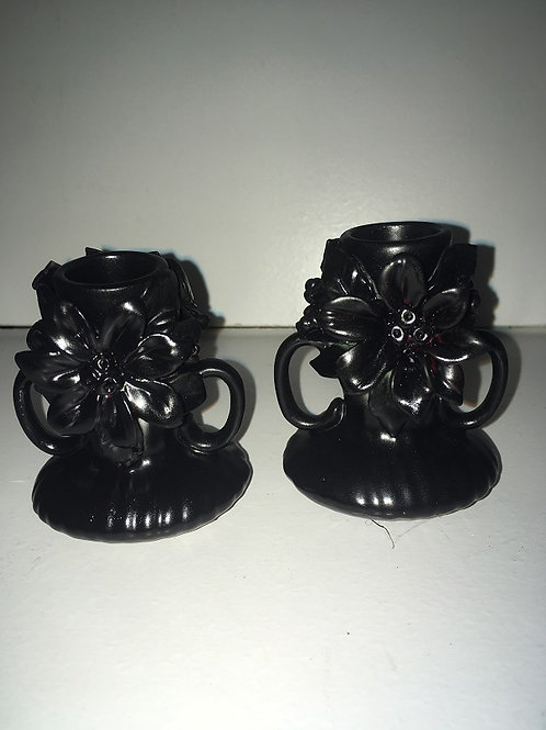poinsettia candle holder #2