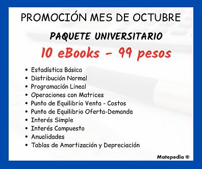 Paquete Universitario