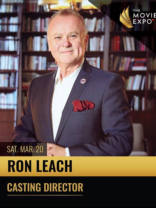 Ron Leach - Sat, Mar 20 -